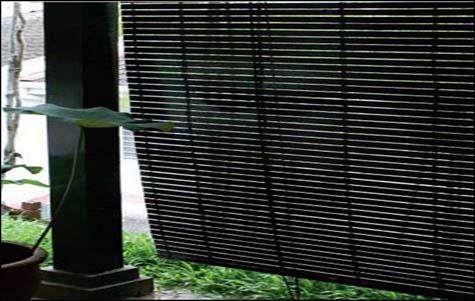 Outdoor Wooden Blinds Kosy Furnishing Kota Kinabalu Kk